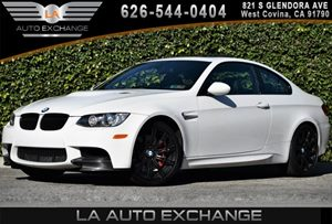2013 BMW M3  Carfax Report 8 Cylinders Adaptive Brakelights Adjustable Front Armrest Air Condi