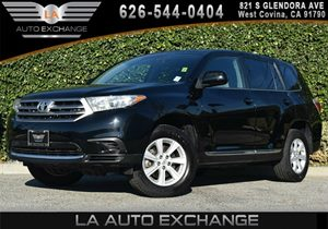2013 Toyota Highlander  Carfax 1-Owner - No AccidentsDamage Reported 17 7-Spoke Alloy Wheels