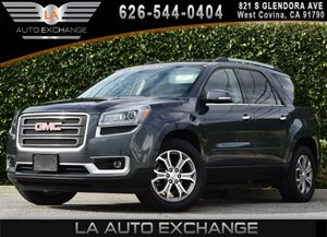 2014 GMC Acadia SLT Carfax 1-Owner  Cyber Gray Metallic  We are not responsible for typographi