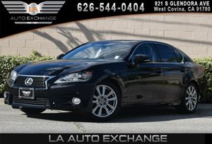 2014 Lexus GS 350  Carfax 1-Owner 2 12V Dc Power Outlets 6 Cylinders 8-Way Driver Seat Air Con