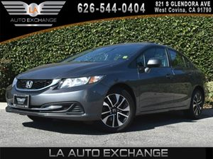 2013 Honda Civic Sdn EX Carfax 1-Owner - No AccidentsDamage Reported 2-Tier Instrument Panel WB