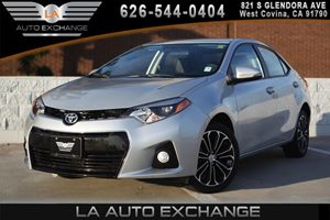 2016 Toyota Corolla S Carfax 1-Owner - No AccidentsDamage Reported 1 12V Dc Power Outlet 4 Cyli