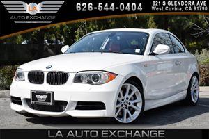 2013 BMW 1 Series 135i Carfax 1-Owner - No AccidentsDamage Reported 2-Way Power Glass Moonroof W