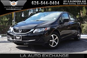 2015 Honda Civic Sedan SE Carfax 1-Owner 1 12V Dc Power Outlet 4 Cylinders Air Conditioning  A