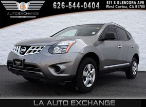 2014 Nissan Rogue Select S Carfax 1-Owner 2 12V Dc Power Outlets 4 Cylinders Aero-Composite Hal