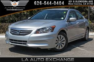 2012 Honda Accord Sdn LX Carfax Report 4 Cylinders Audio  AmFm Stereo Audio  Cd Player Body