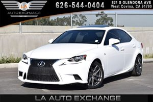 2014 Lexus IS 350  Carfax 1-Owner 6 Cylinders Air Conditioning  AC Audio  AmFm Stereo Audi