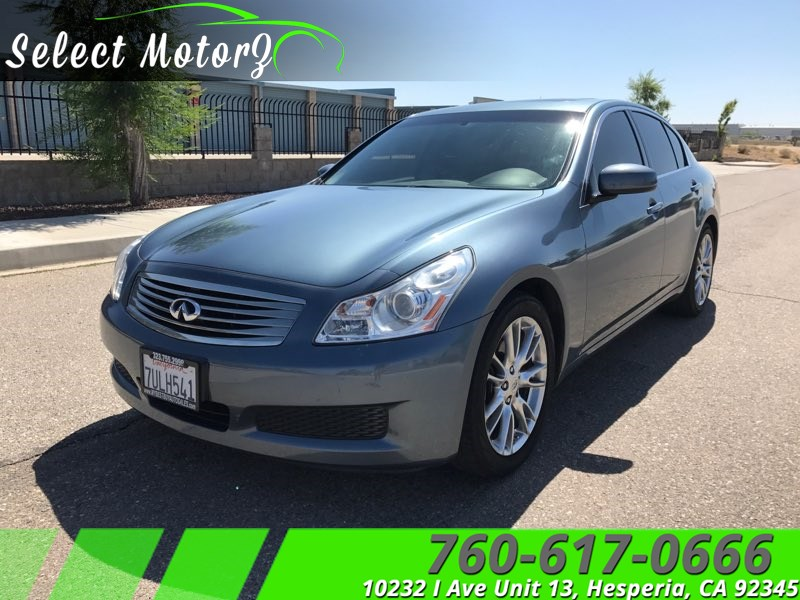 2007 Infiniti G35 Sedan >> Sold 2007 Infiniti G35 Sedan Journey In Hesperia