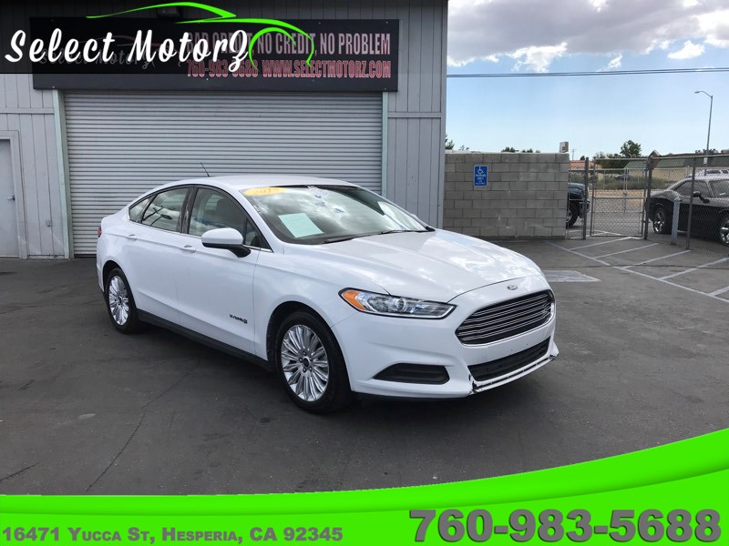Sold 2015 Ford Fusion S Hybrid In Hesperia