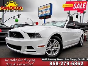 View 2014 Ford Mustang, CONV.,PREMIUM, LEATHER INT,1 OWNER,