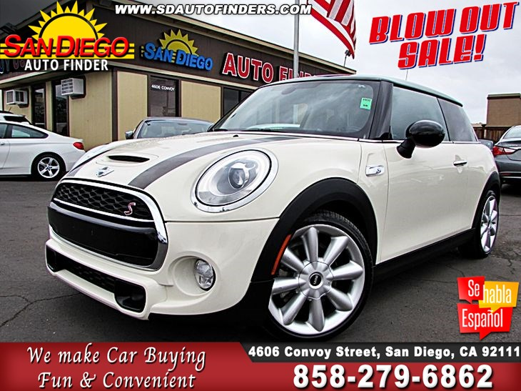 Mini Cooper San Diego >> 2014 Mini Cooper S John Works Edition Very Rare Sdautofinders Com Cln Carfax Super Nice San Diego Auto Finder