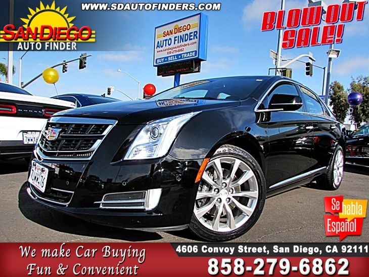 Sold 2017 Cadillac Xts Luxury Like New Sdautofinders Com 1 Owner