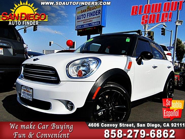 Mini Cooper San Diego >> 2015 Mini Cooper Countryman San Diego Auto Finder