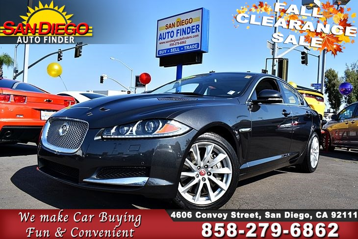 2015 Jaguar XF Sdn I4 T Premium, 1 Owner, SdAutoFinders COM, Cln Carfax, -  San Diego Auto Finder