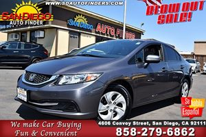 View 2014 Honda Civic LX, LOW MILES, LIKE NEW, CAMERA,
