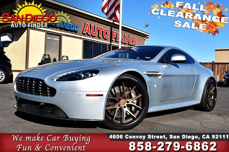 Inventory San Diego Auto Finder - Aston martin for sale san diego