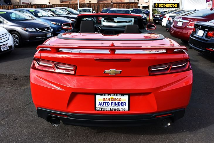 Sold 2018 Chevrolet Camaro Conv Lt Just Awesome Like New