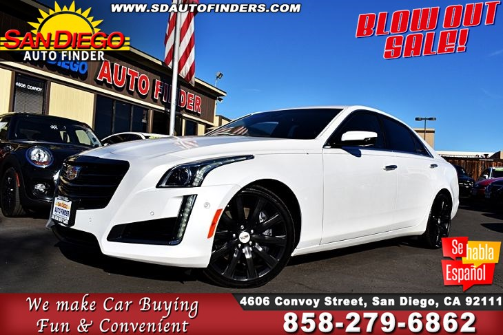 Used 2016 Cadillac Cts V Sport Twin Turbo 1 Owner Pristine