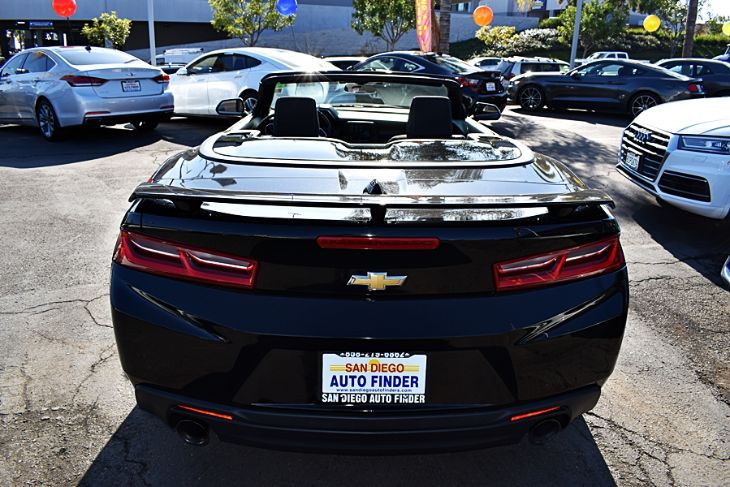 Sold 2017 Chevrolet Camaro Rs Convertible Blkblk Super Sharp