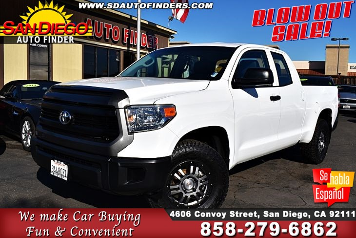 Tundra Double Cab >> Used 2016 Toyota Tundra Double Cab Sr 4 6l V8 Small Lift Awesome