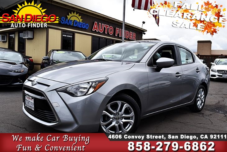 2016 Scion iA, Only 37k Miles,1 Owner, Super Nice, SdAutoFinders.com,Great Value, Don't miss it,