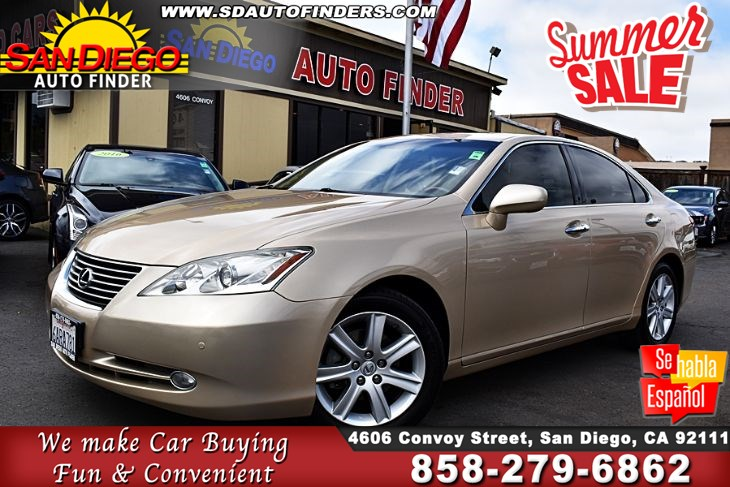 2008 Lexus ES 350,NAVIGATION' BACK UP CAMERA'FULLY LOADED, SdAutoFinders.com, Absolutely Gorgeous,