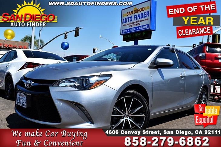 2015 Toyota Camry XSE Navigation*LeatherSeats*Back-Up Camera!! SdautoFinders.com,