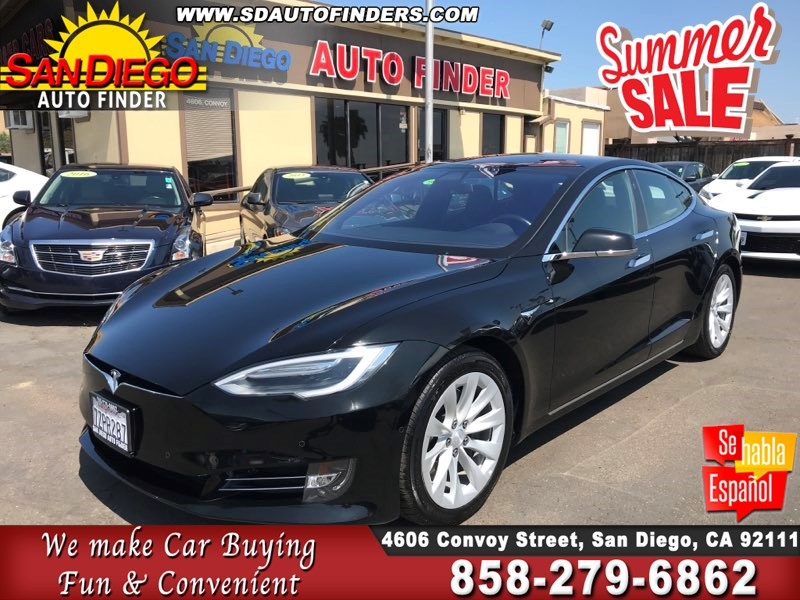 2017 Tesla Model S 75 ' Air Suspension ' All Glass Top ' SdAutoFinders.com,Like New,