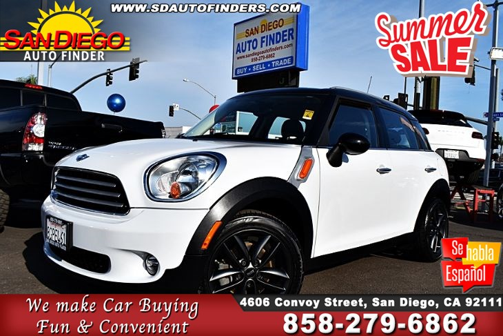 Mini Cooper San Diego >> 2014 Mini Cooper Countryman Low Miles Super Nice Loaded Sdautofinders Com Clean Carfax Don T Missit San Diego Auto Finder