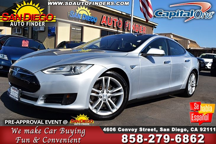 2013 Tesla Model S 60, ,'AIR SUSPENSION', 1-Owner Clean Carfax SdautoFinders.com,