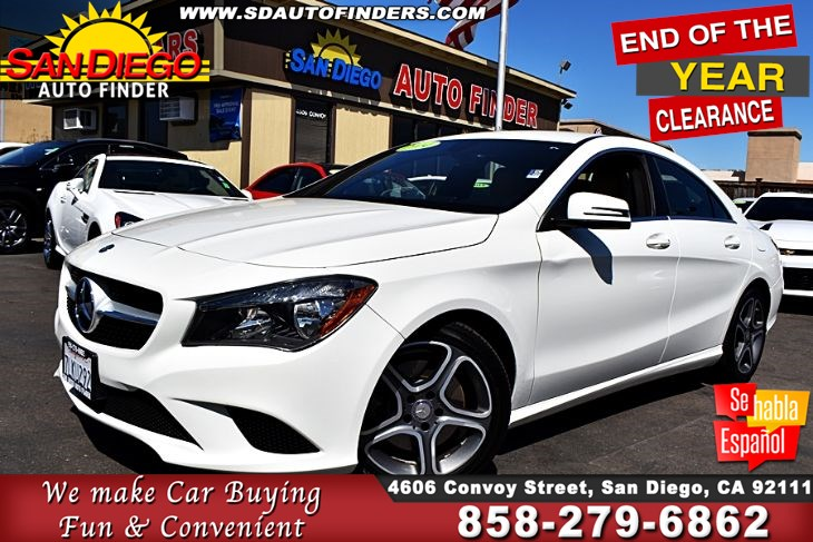 2014 Mercedes-Benz CLA 250,Just Gorgeous,A must see,Clean Carfax, SdautoFinders.com,Don't Miss it,