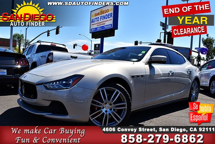 2014 Maserati Ghibli S Q4,Twin TurboCharged 3.0 Liter V6 FullyLoaded GREAT DEAL! SdAutoFinders.com,