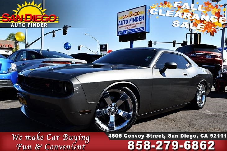 2009 Dodge Challenger R/T  5.7 Liter HEMI V8 Leather Seats Borla Exhaust Must See!!,SdAutoFinders.com