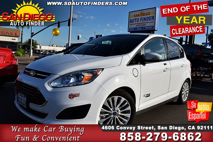 2017 Ford C-Max SE Only 24K Miles 1-Owner Clean Carfax, 42 Highway 38 City SdAutoFinders.com,