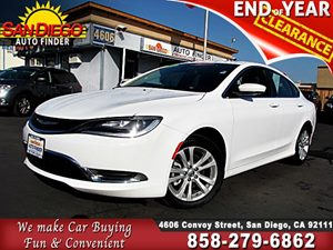 View 2015 Chrysler 200, LIMITED, LOADED, BACKUP CAMERA