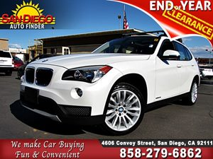 View 2014 BMW X1,xDrive28i,panoramic roof,1 OWNR,wht, loaded,