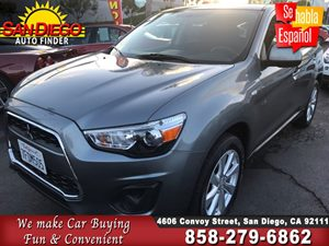 View 2015 Mitsubishi Outlander Sport ES,AWD,1 OWNER,