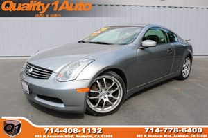 View 2005 INFINITI G35 Coupe