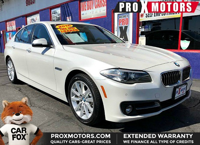 Used 2016 Bmw 5 Series 535i In Bellflower