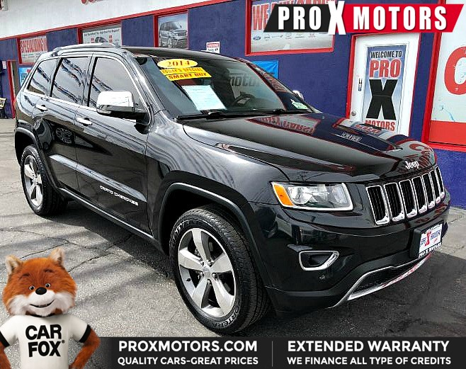 Jeep Extended Warranty >> Sold 2014 Jeep Grand Cherokee Limited In Bellflower