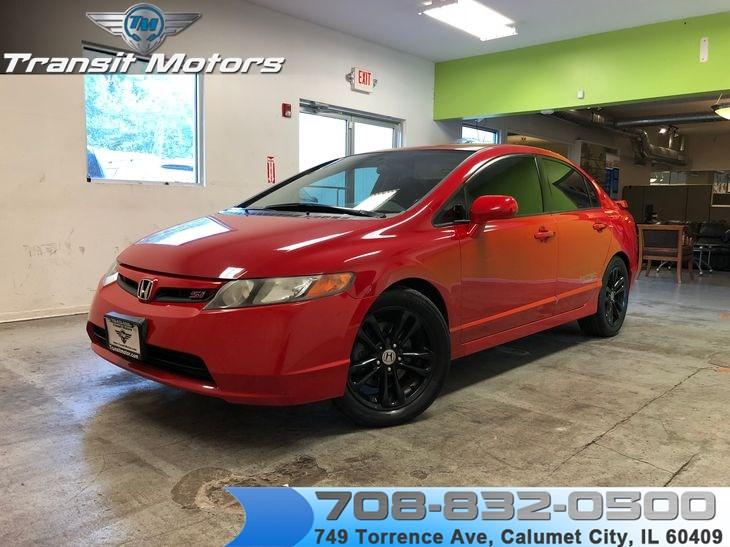Sold 2008 Honda Civic Sdn Si In Calumet City