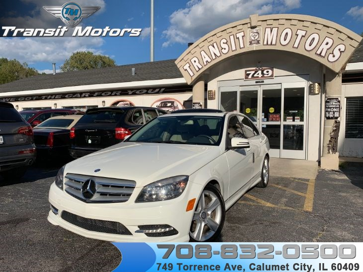 2011 Mercedes-Benz C 300 4MATIC Sport Sedan