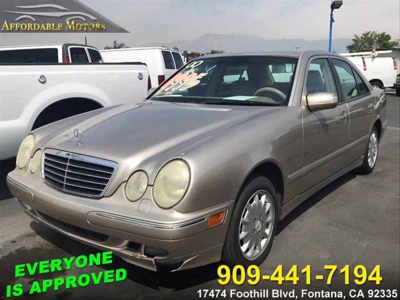 2000 Mercedes-Benz E-Class 4MATIC Sedan