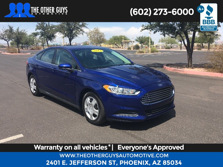 Sold 2013 Ford Fusion S In Phoenix