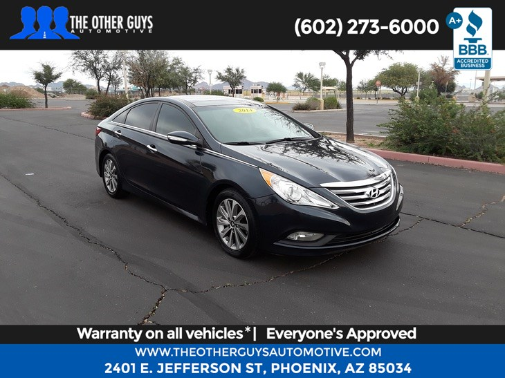 2014 Hyundai Sonata Limited The Other Guys Automotive