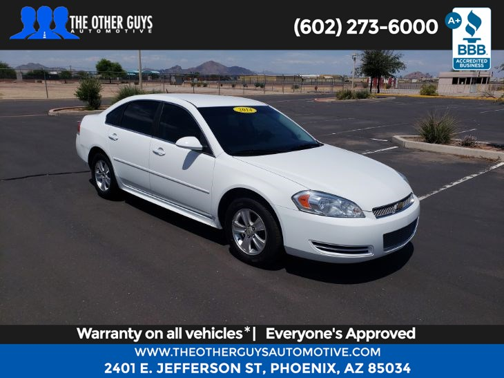 2014 Chevrolet Impala Limited LS - The Other Guys Automotive