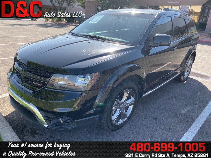2016 Dodge Journey Crossroad Plus Sport Utility 4D