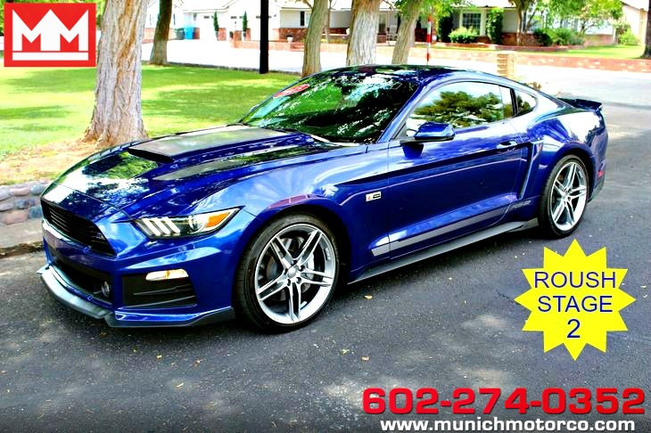 used 2015 ford mustang roush stage 2 gt premium in phoenix