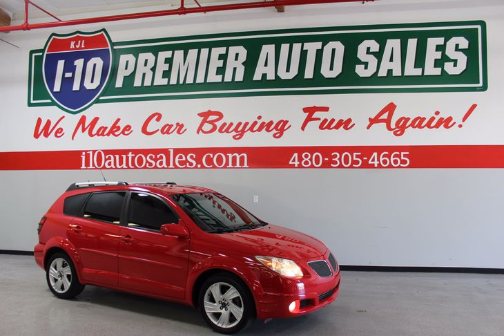 Sold 2005 Pontiac Vibe Gt In Phoenix