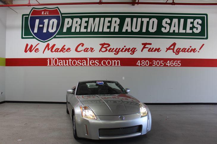 Sold 2004 Nissan 350z Enthusiast In Phoenix